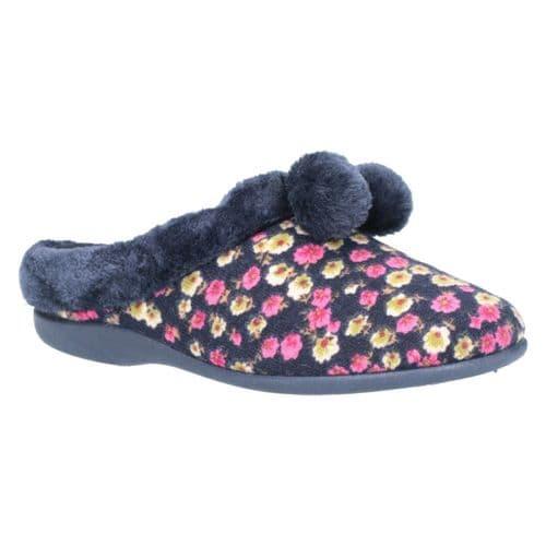 Mirak Chabilis Mule Ladies Slippers Floral
